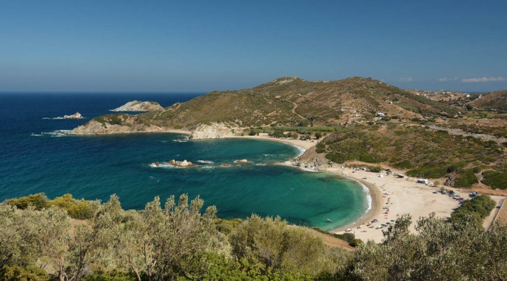 Greece, Euboea (Evia), Cheromilos beach