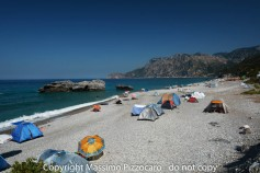 Greece, Euboea (Evia), Chiliadou beach