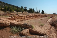 Greece, Euboea (Evia), Eretria Archeological site