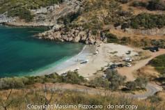 Greece, Euboea (Evia), Mageiras beach