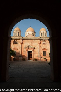 Greece, Crete, Tzagarolon (Agia Triada) monastery