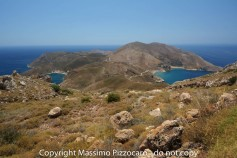 Porto Kayio and Marmari bays